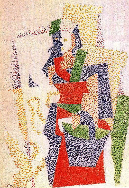 Пабло Пикассо. Итальянка