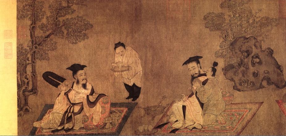 Шунь Вэй. Бытовая сцена 156