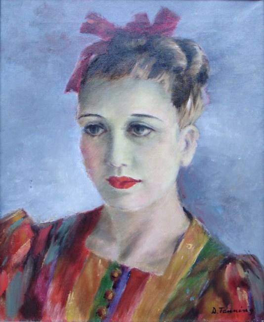 Dorothea Tunning. Portrait Of Maria Luisa