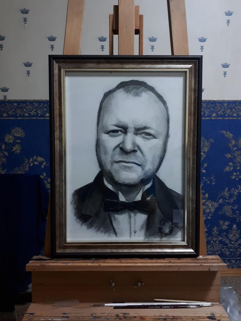 Vladislav Olegovich Mandrygin. Portrait