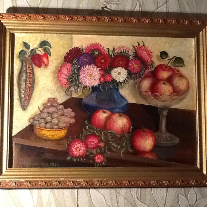 Zverkovskaya Nina Nikolayevna (Krasnoarmeysk. Gifts of Autumn