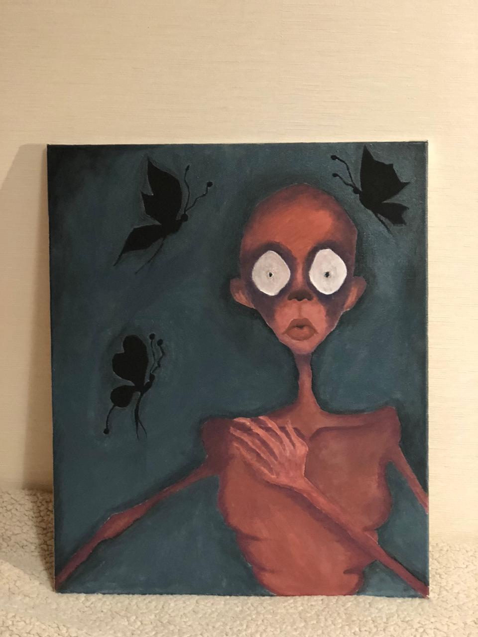 Ann Bortnikova. Butterfly