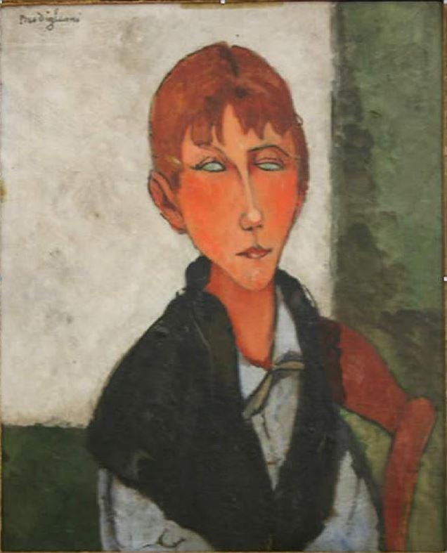 Amedeo Modigliani. Mistress