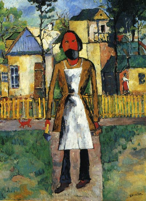 Kazimir Malevich. Carpenter