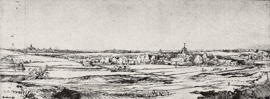 Рембрандт Ван Рейн. Поместье взвешивателя золота