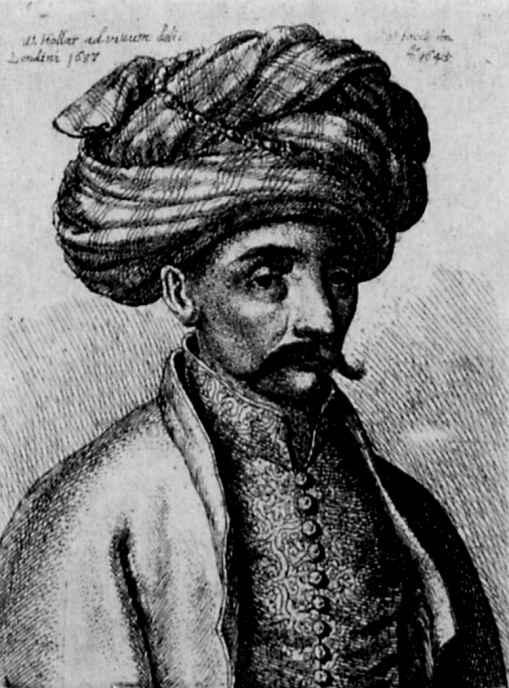 Венцель Холлар. Портрет турка