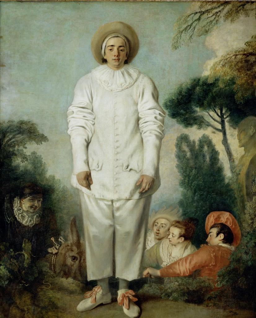 Antoine Watteau. Gilles