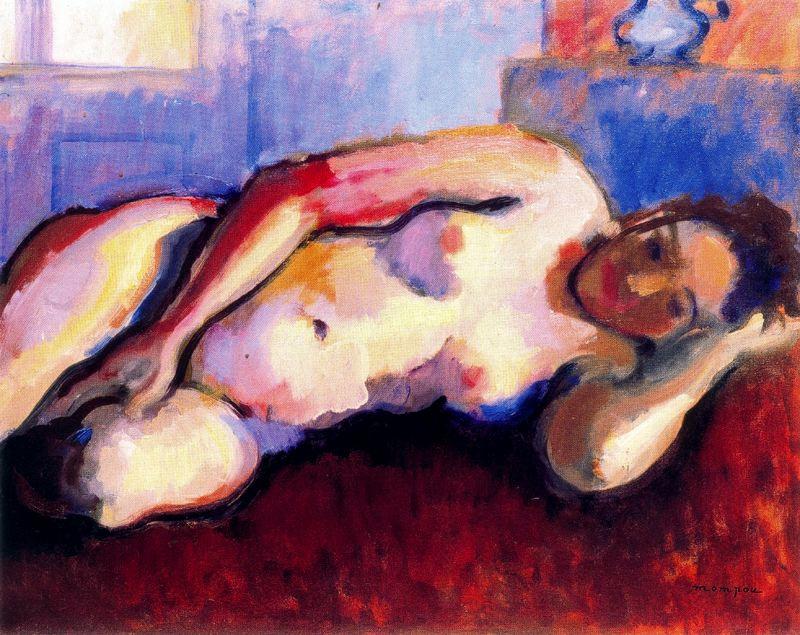 Jose Mompou. Nude woman