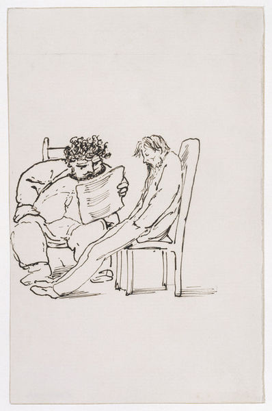 Edward Coley Burne-Jones. William Morris reads to the poet Burne-Jones