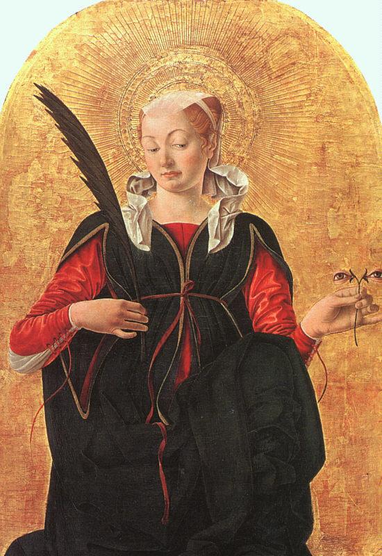 Франческо дель Косса. Черное перо