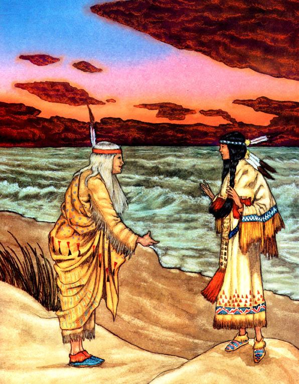 Майкл Хаг. 0006 Индейская Золушка