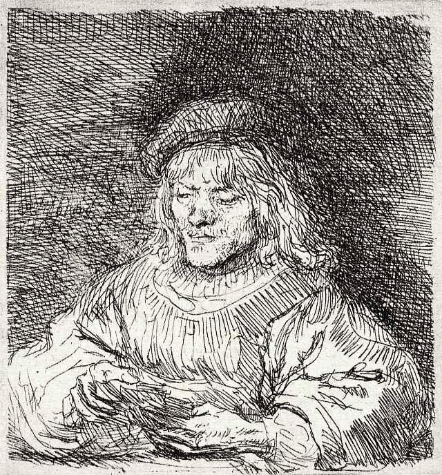 Рембрандт Ван Рейн. Игрок в карты