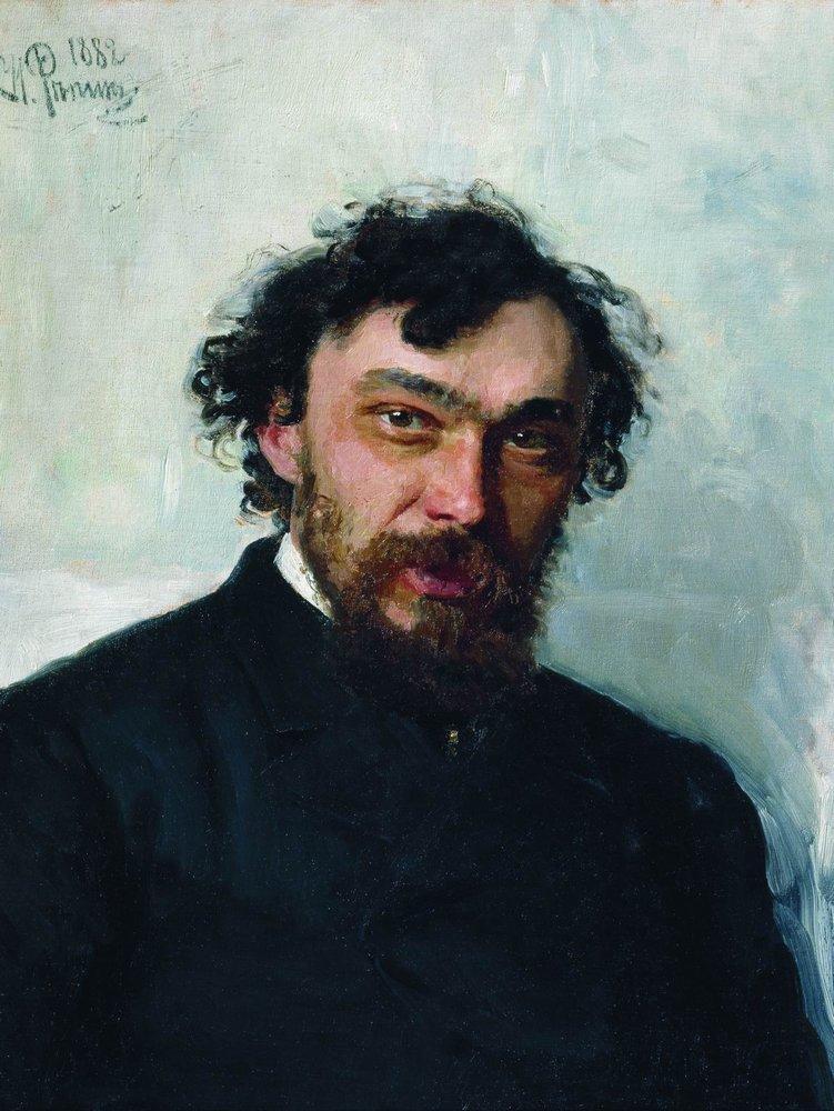 Илья Ефимович Репин. Портрет художника И. П. Похитонова