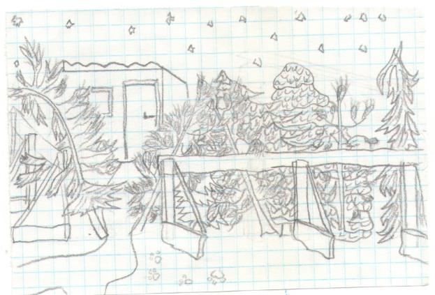 Procopius Merulla. Last Christmas trees