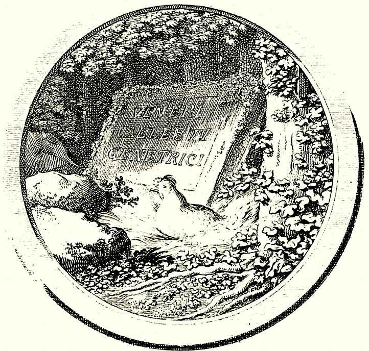 """Даниэль  Николай Ходовецкий. Титульная виньетка к сочинению Иоганна Фридриха Блюменбаха """"О созидательном движении"""""""