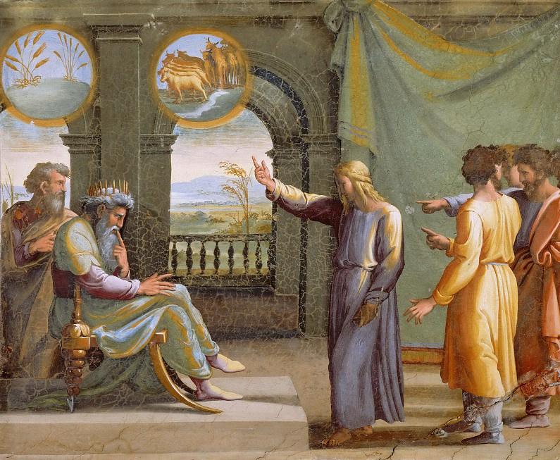 Joseph and Pharoahs Dream
