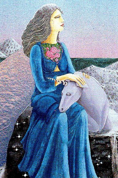 Ники Бройлс. Ангел и снежный Единорог