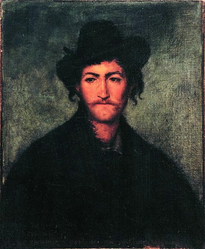 Pavel Vasilyevich Zhukovsky. Italian shepherd