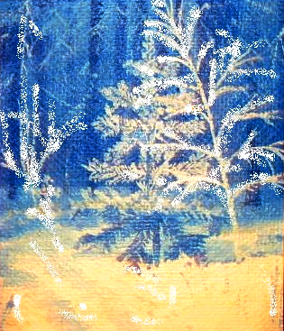 Vladimir Adamovich Ropot. Christmas tree