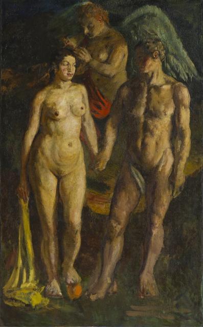 Heliy Mikhailovich Korzhev. Adam and eve