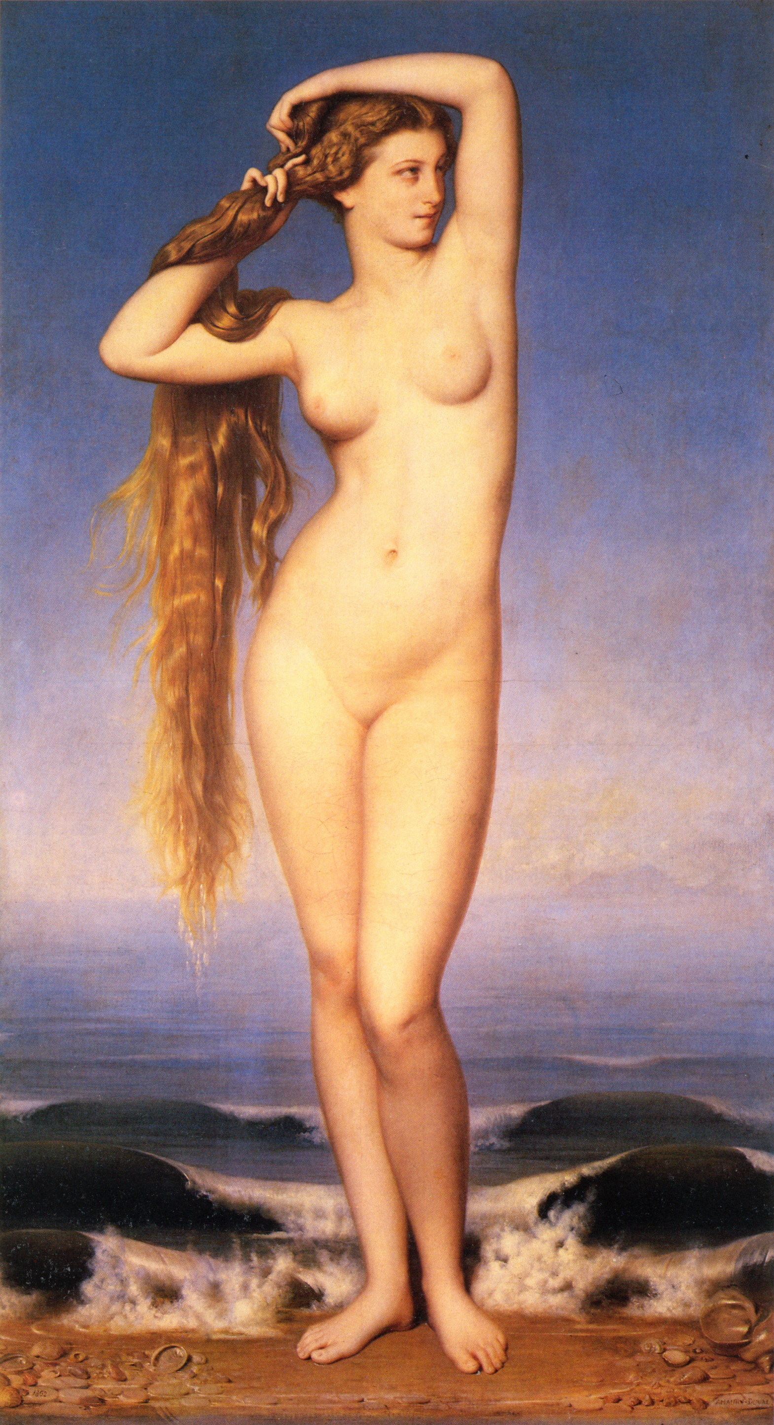 Eugene Emmanuel Amori Duval. The Goddess Aphrodite