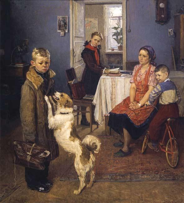 Fedor Pavlovich Reshetnikov. Deuce again