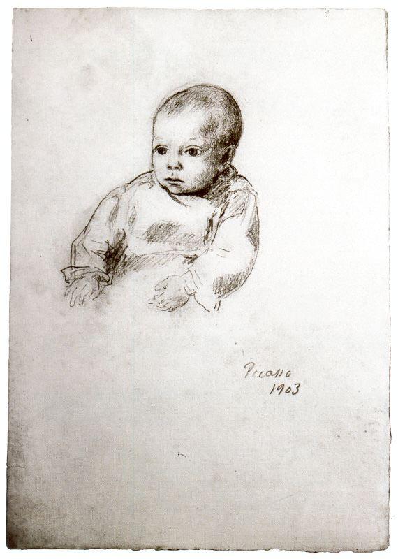 Пабло Пикассо. Портрет сына папаши Ромеу