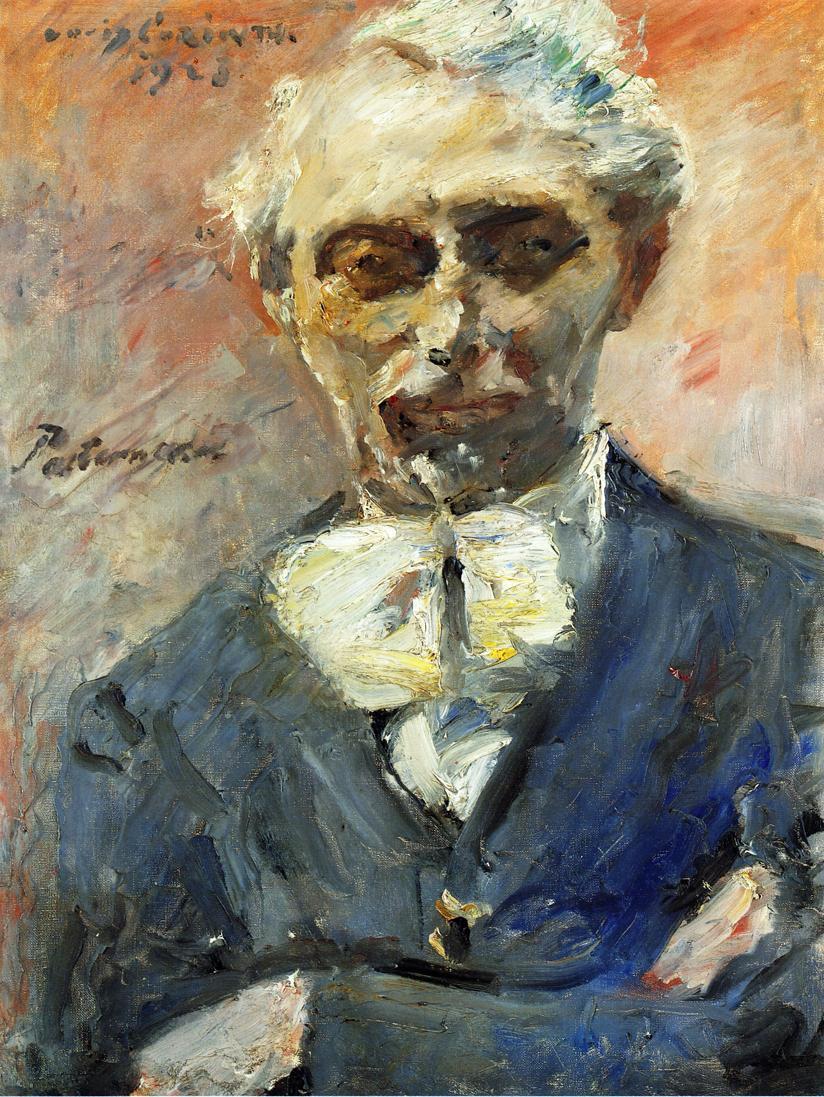 Lovis Corinth. Portrait of the artist Leonid Pasternak