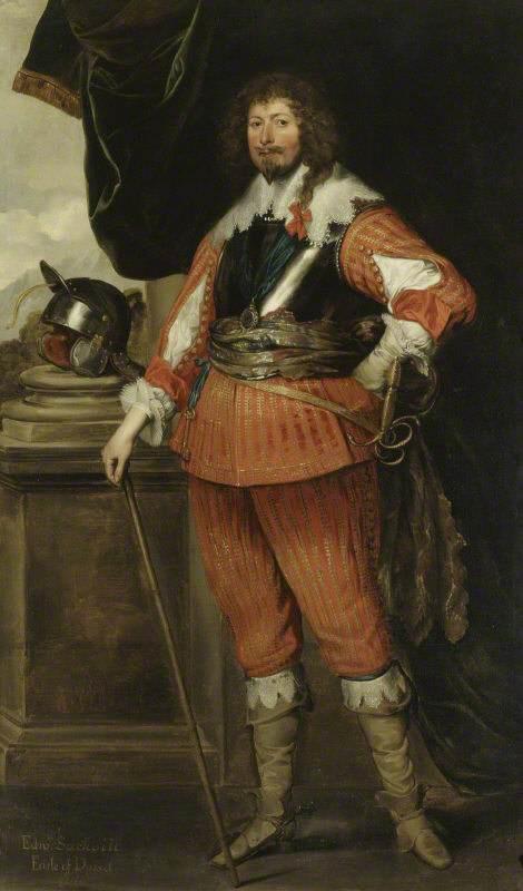 Anthony van Dyck. Edward Sackville, 4th Earl of Dorset