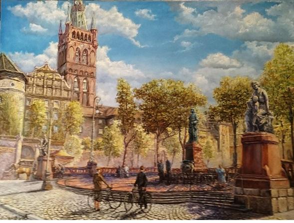 Evgeny Vladimirovich Terentyev. Königsberg. Kaiser-Wilhelm-Platz