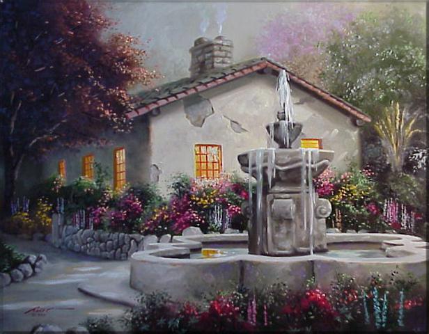 Donald Rust. Fountain