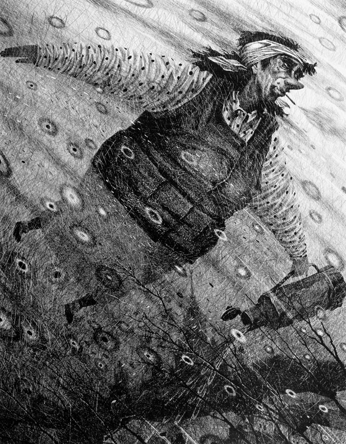"""Дмитрий Никитич Санджиев. ВЕЧНАЯ АННУШКА. ИЗ СЕРИИ """"МАСТЕР И МАРГАРИТА"""""""