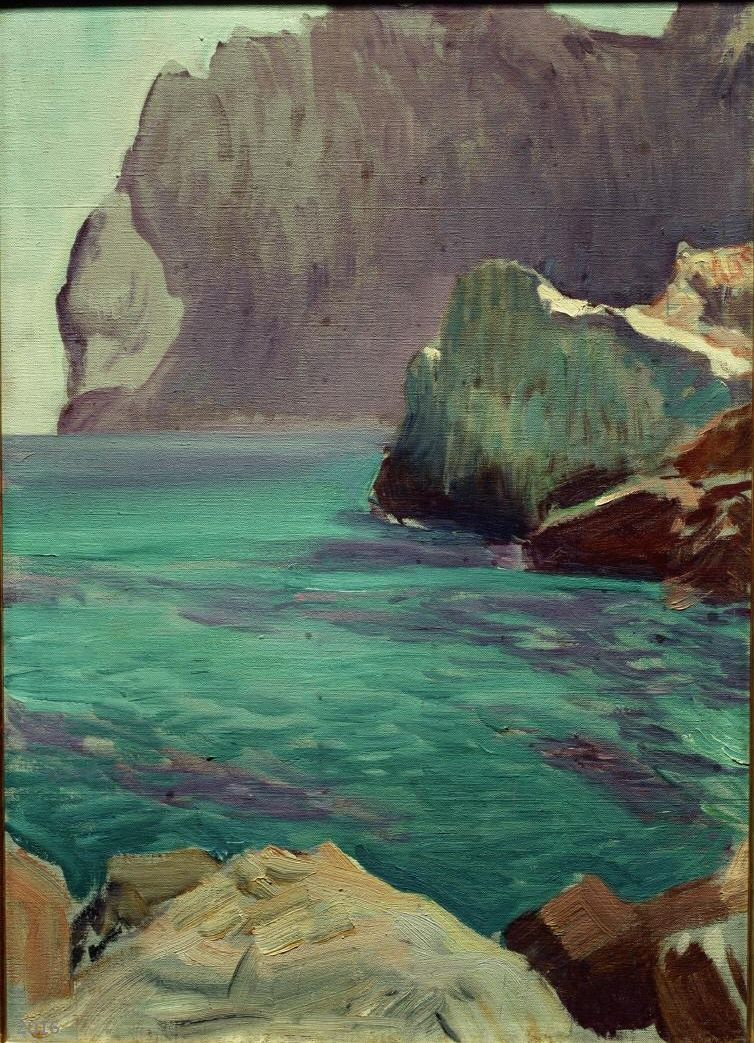 Хоакин Соролья (Соройя). Залив Сан-Висенте