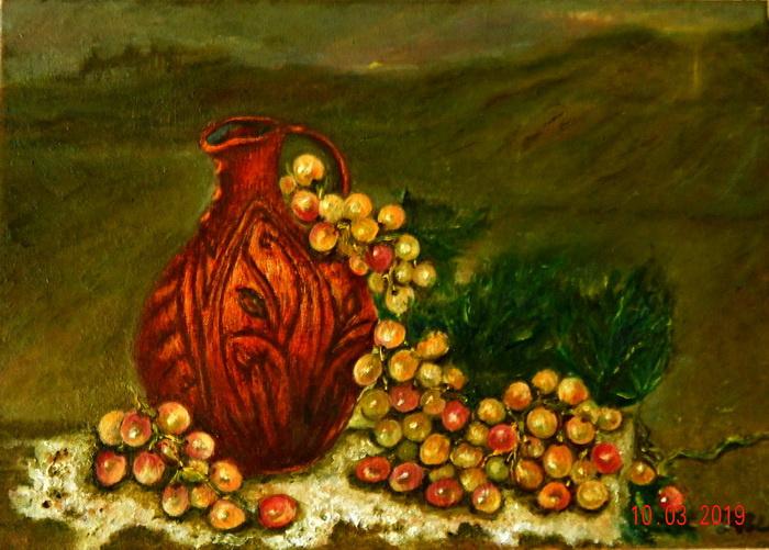 Irel Shulzhenko. Jug of wine