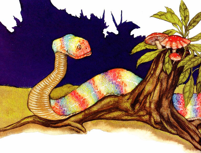 Майкл Хаг. 0017 Почему Лягушка и Змея никогда не играют вместе