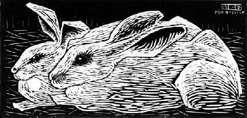 Мауриц Корнелис Эшер. Кролики