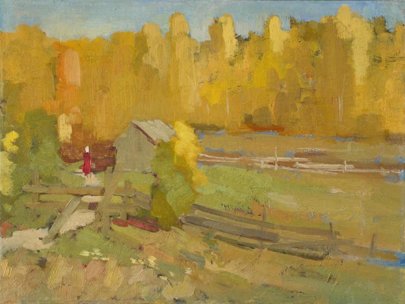 Alexander Vasilyevich Evtikhiev (Evtikheev). Orlovka. September