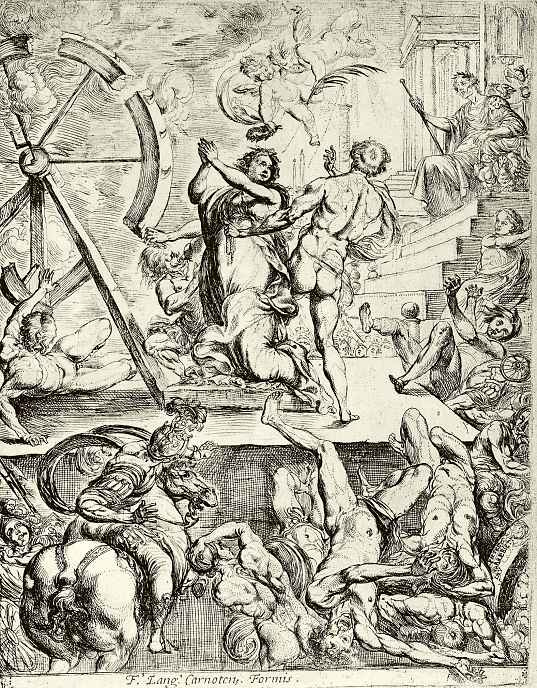 Пьер Бребьетт. Мученичество Святой Екатерины