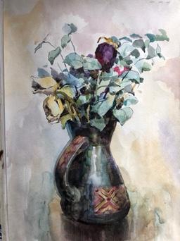 "Elizabeth Sokolova. ""Bouquet"""