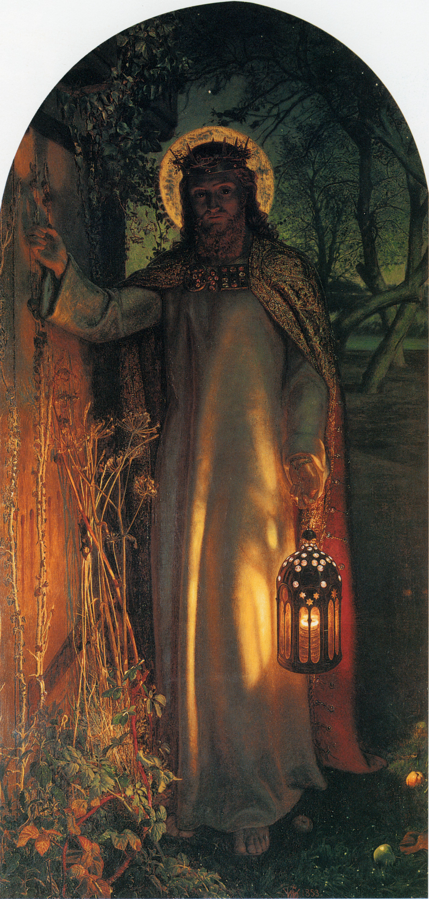 William Holman Hunt. The light of the world