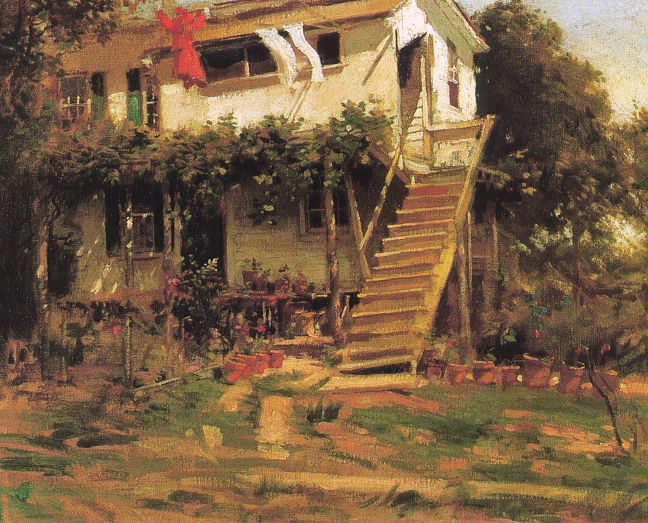 Пол Корноуер. Лестница
