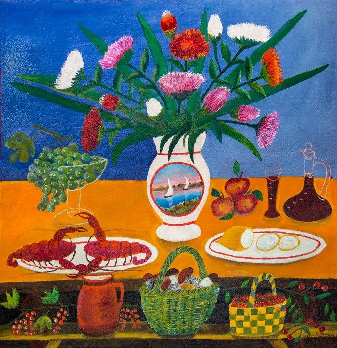 Vasily Vasilyevich Grigoryev. Summer still life