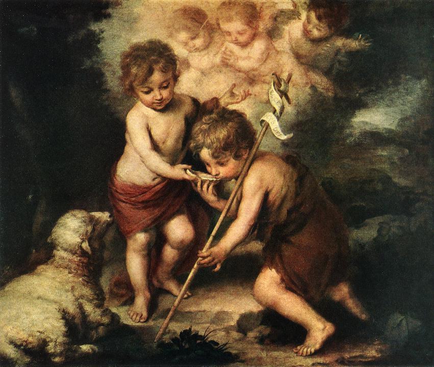 Bartolomé Esteban Murillo. Children