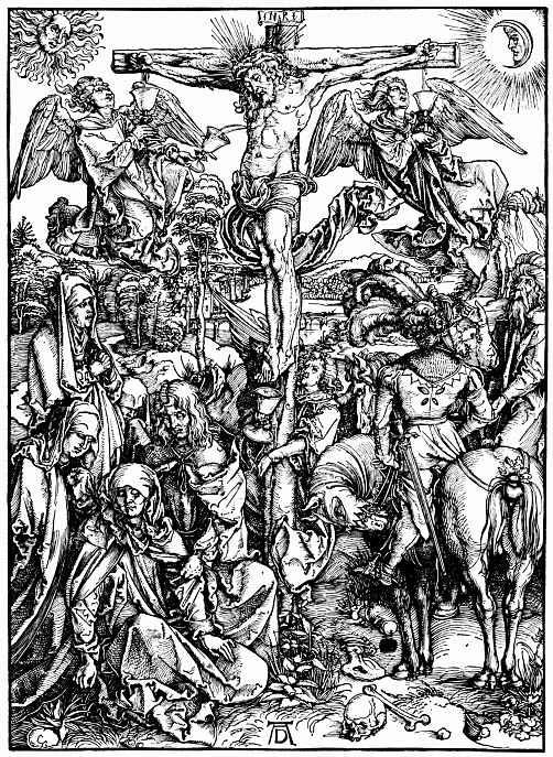 Альбрехт Дюрер. Христос на кресте