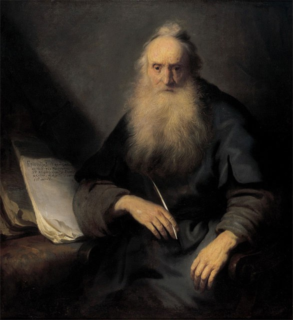 """Ян Ливенс. Святой Павел пишет """"Послание к Фессалоникийцам"""""""