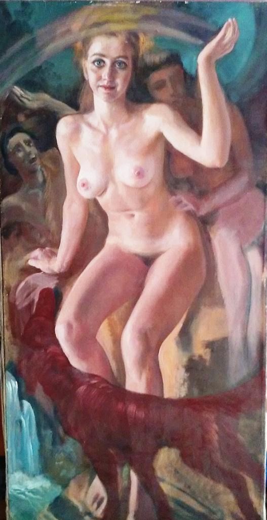 Yuri Vladimirovich Pugachev. Nude