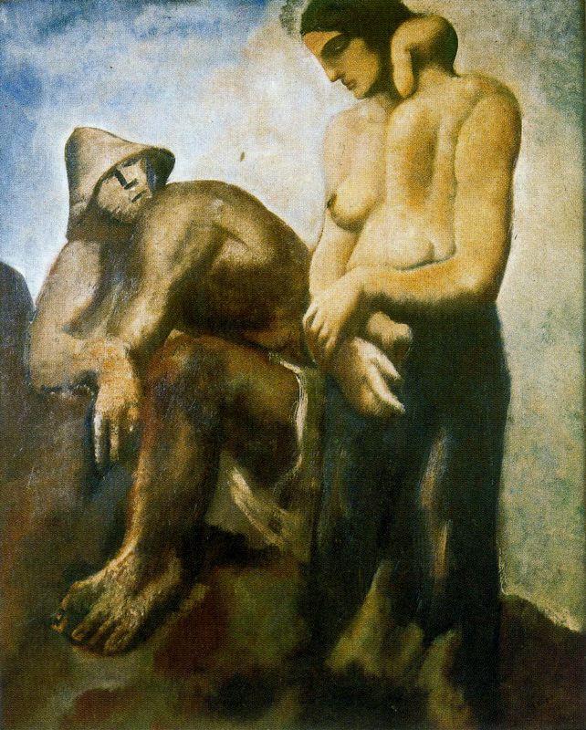 Марио Сирони. Мужчина и женщина