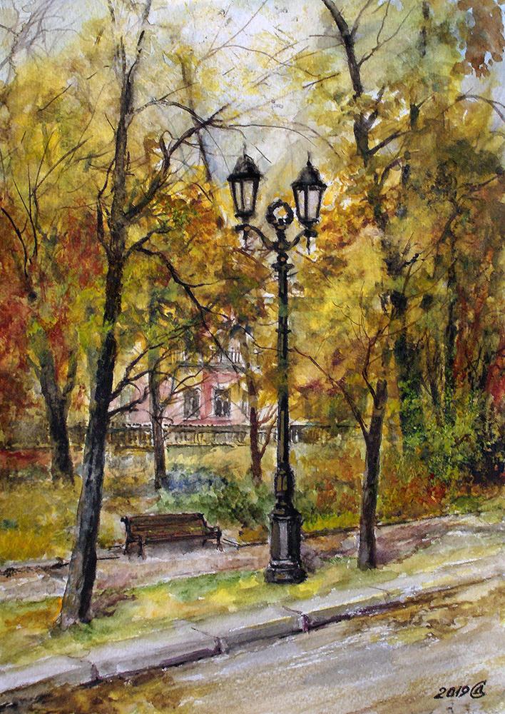 Сергей Владимирович Дорофеев. On Tversky Boulevard