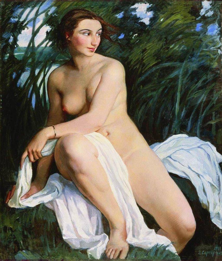Zinaida Serebryakova. Bather