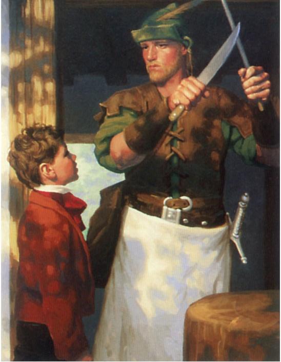 Грег Хильдебрандт. Острый нож
